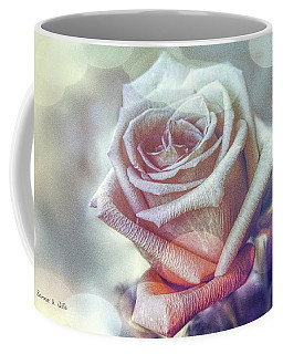 Coffee Mug featuring the digital art Aromatic Rose by Bonnie Willis
