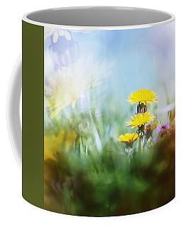 Coffee Mug featuring the photograph Around The Meadow by Jaroslav Buna