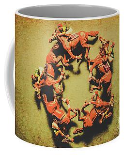 Around The Racetrack Coffee Mug