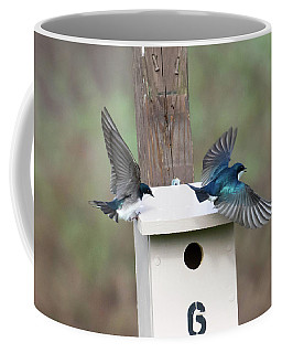 Arrival And Departure Coffee Mug