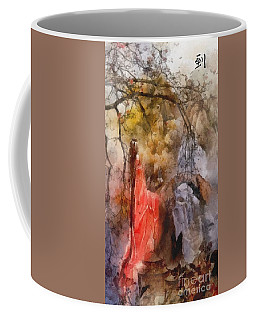 Arrival Coffee Mug by Mo T