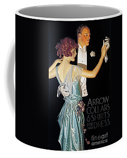 Arrow Shirt Collar Ad, 1923 Coffee Mug