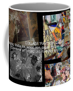 art collage Italy Coffee Mug