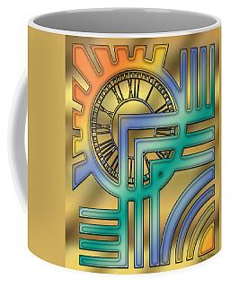 Coffee Mug featuring the digital art Art Deco 24 by Chuck Staley