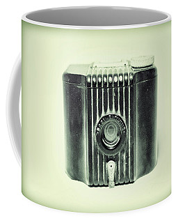 Art Deco Baby Brownie Mint Green Coffee Mug