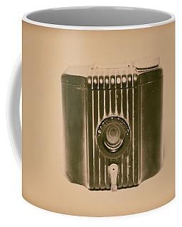 Art Deco Baby Brownie Tan Camera Coffee Mug