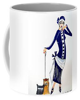 Art Deco  Diane 1920's Coffee Mug