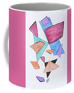 Coffee Mug featuring the painting Art Doodle No. 1 by Clyde J Kell