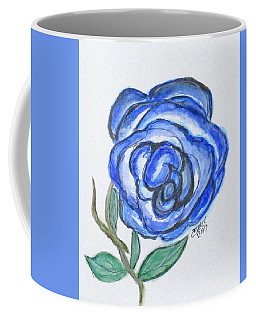 Coffee Mug featuring the painting Art Doodle No. 19 by Clyde J Kell
