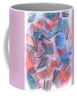 Coffee Mug featuring the painting Art Doodle No. 23 by Clyde J Kell