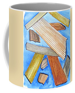 Coffee Mug featuring the painting Art Doodle No. 24 by Clyde J Kell