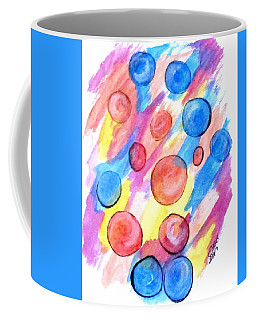 Coffee Mug featuring the painting Art Doodle No. 25 by Clyde J Kell