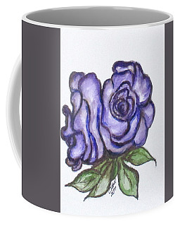 Coffee Mug featuring the mixed media Art Doodle No. 26 by Clyde J Kell