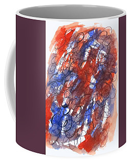Coffee Mug featuring the mixed media Art Doodle No. 28 by Clyde J Kell