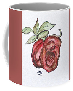 Coffee Mug featuring the mixed media Art Doodle No. 29 by Clyde J Kell