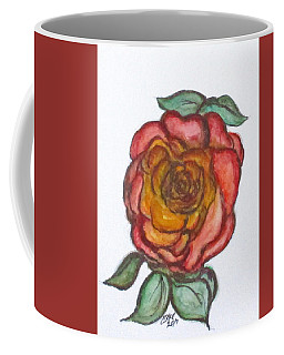 Coffee Mug featuring the mixed media Art Doodle No. 30 by Clyde J Kell