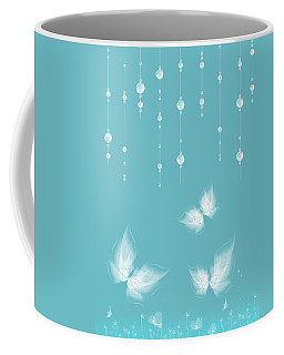 Art En Blanc - S11a Coffee Mug by Variance Collections