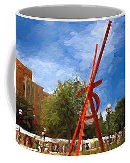 Art Fair Painting Coffee Mug