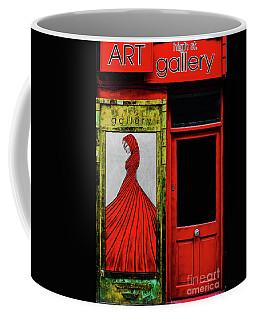 Art Gallery Shop Front Coffee Mug by Lexa Harpell