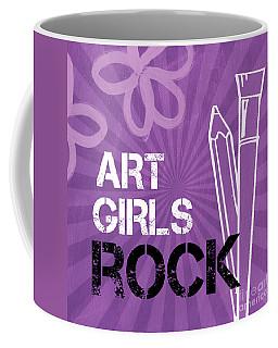 Art Girls Rock Coffee Mug
