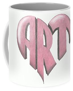 Art Heart Coffee Mug