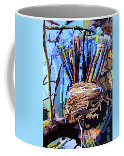 Art In A Nest Coffee Mug