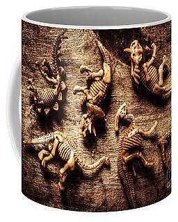 Art In Palaeontology Coffee Mug