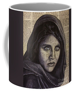 Art In The News 64-afghan Girl Coffee Mug
