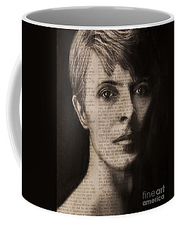 Art In The News 78-bowie Coffee Mug