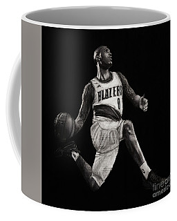 Art In The News- Lillard Coffee Mug