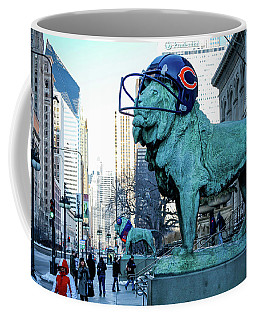 Art Institute Of Chicago Lions Coffee Mug