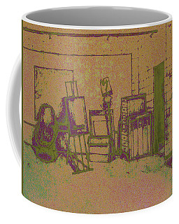 Art Intro Mixed Media Coffee Mug by Hye Ja Billie