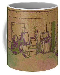 Art Intro Mixed Media Coffee Mug
