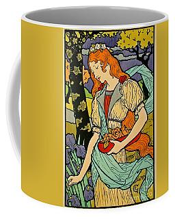 Art Nouveau Poster 1893 Coffee Mug by Padre Art