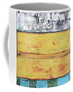 Coffee Mug featuring the painting Art Print Abstract 34 by Harry Gruenert