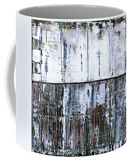 Coffee Mug featuring the painting Art Print Abstract 45 by Harry Gruenert