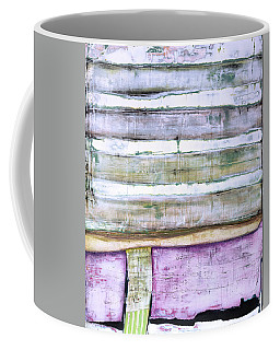 Coffee Mug featuring the painting Art Print Abstract 93 by Harry Gruenert