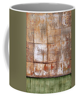 Coffee Mug featuring the painting Art Print Abstract 35 by Harry Gruenert