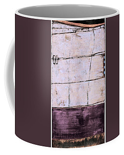 Coffee Mug featuring the painting Art Print Abstract 100 by Harry Gruenert