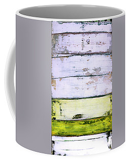 Coffee Mug featuring the painting Art Print Abstract 11 by Harry Gruenert