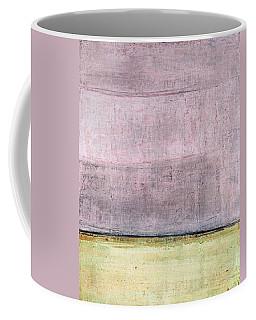 Coffee Mug featuring the painting Art Print Abstract 15 by Harry Gruenert