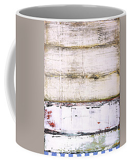 Coffee Mug featuring the painting Art Print Abstract 25 by Harry Gruenert
