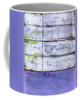 Coffee Mug featuring the painting Art Print Abstract 70 by Harry Gruenert
