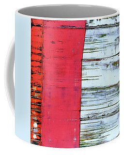Coffee Mug featuring the painting Art Print Abstract 75 by Harry Gruenert