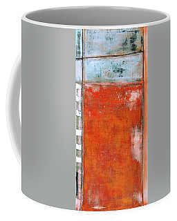 Coffee Mug featuring the painting Art Print Abstract 8 by Harry Gruenert