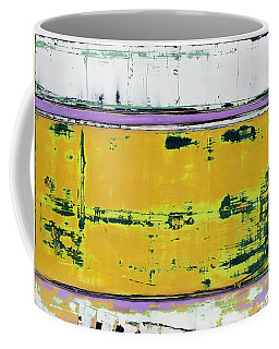 Coffee Mug featuring the painting Art Print Abstract 81 by Harry Gruenert
