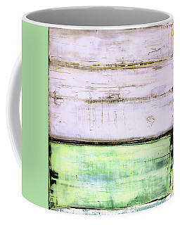 Coffee Mug featuring the painting Art Print Abstract 87 by Harry Gruenert