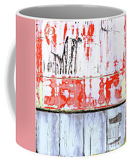 Coffee Mug featuring the painting Art Print Abstract 91 by Harry Gruenert