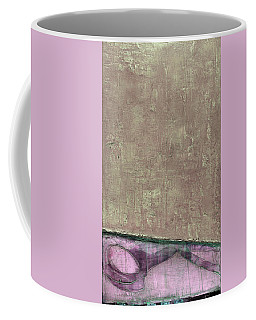Coffee Mug featuring the painting Art Print Abstract 94 by Harry Gruenert