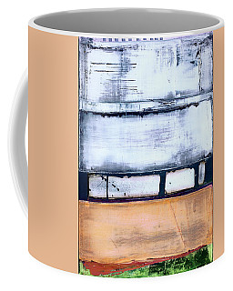 Coffee Mug featuring the painting Art Print Abstract 95 by Harry Gruenert